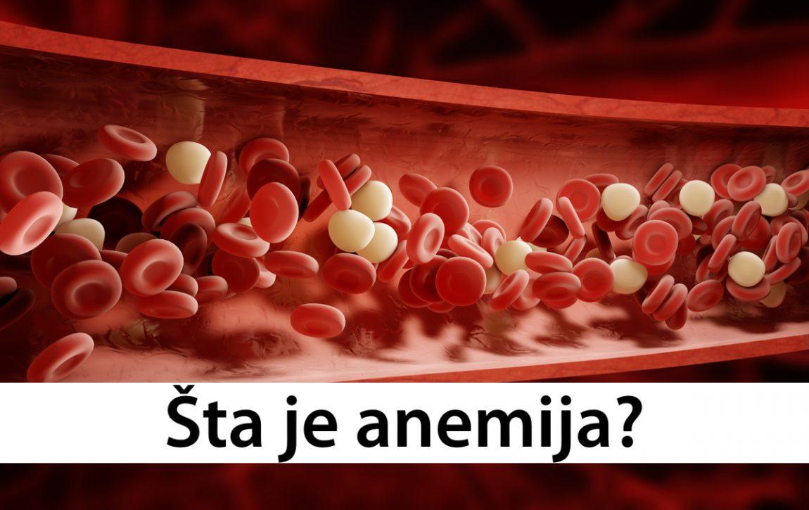 Šta je anemija?